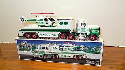 1995-1 Hess Toy Truck And Helicopter Lights And Helicopter Rotors And Lights