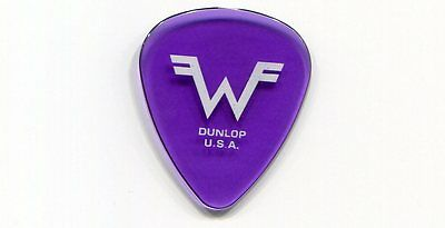 WEEZER 2010 Hurley Tour Guitar Pick!!! RIVERS CUOMO custom concert stage Pick