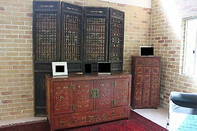 Chinese Antique Screen - Large