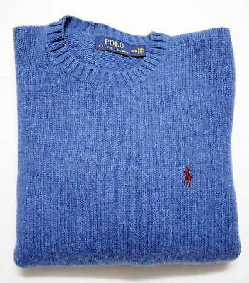 New with Tag RALPH LAUREN POLO Mens SOFT MERINO WOOL ANGORA Sweater SIZE LARGE
