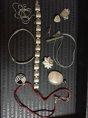 104 Grams Of 925 silver Necklaces Pendants  Bracelets And More