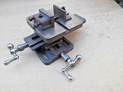 "ATLAS 7"" x 7""  UNIVERSAL COMPOUND VISE , X-Y , WITH CLAMPS"