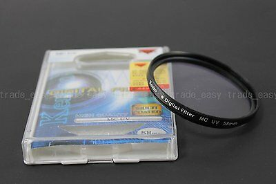 Genuine Kenko 58mm Digital Multi coated MC UV Filter for sony Canon Nikon