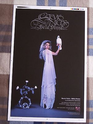 "STEVIE NICKS The Wild Heart 2016 US 11"" X 17"" 2 Sided Original Promo Poster"