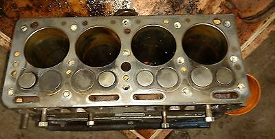 CONTINENTAL F163 ENGINE Block Used F400A-613 bored 040 over forklift welder