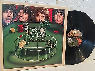 Pablo Cruise - Part of The Game LP - A&M 1979 Rock/Pop/Boogie Original Press NM