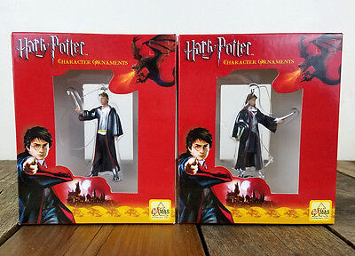 Set of 2 New Harry Potter Ornaments ExMas - Hermoine Granger Ron Weasley