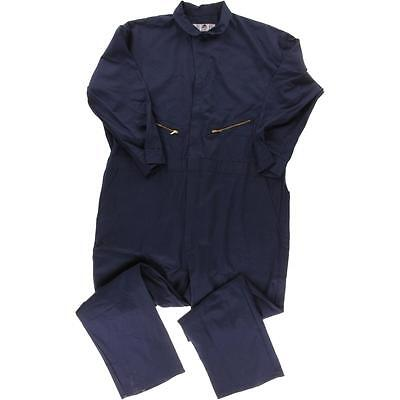 Red Kap 0994 Mens Navy Twill Flat Front Solid Coveralls  60 BHFO