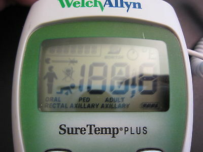 Welch Allyn SureTemp Plus 690 Digital Thermometer Oral Probe FREE SHIPPING