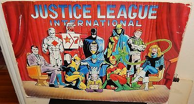 Justice League International Dc Comic Poster