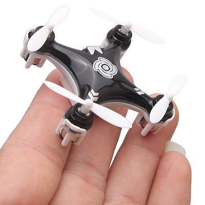 Cheerson CX-10A Mini 2.4G 4CH 6 Axis LED RC Quadcopter Drone 3D Roll Toy Gift