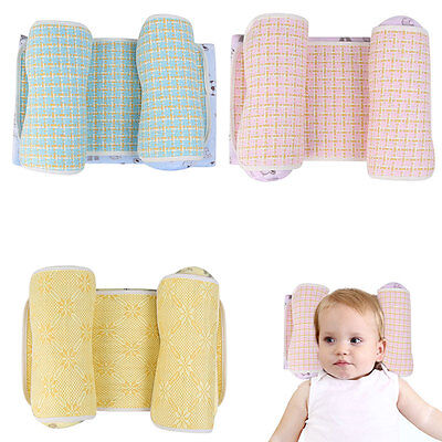 Baby Sleeping Memory Foam Pillow Cot Bed Anti Roll Positioner Head Support Neck