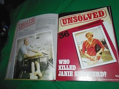 UNSOLVED Magazines Orbis Complete Collection volume 3 binder 25-36 editions