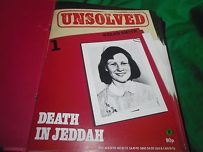 UNSOLVED Magazines Orbis Complete Collection volume 1 binder 1-13 editions