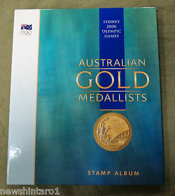 #bb.  2000 Sydney  Olympic Games Gold Medallists Stamp Folder