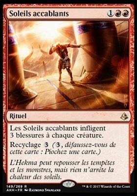 *CARTAPAPA* MAGIC MTG. Soleils Accablants. AMONKHET
