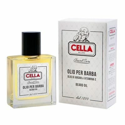 Cella Milano Olio Per Barba Argan E Vitamina E 50 Ml