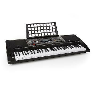 Schubert Keyboard leuchtende 61 Tasten USB MIDI Player LCD Display Lautsprecher