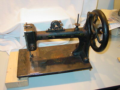 Head Only 1872 Davis Vertical Feed Treadle Sewing Machine Watertown NY