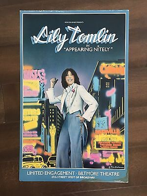 "14"" X 22"" Poster of the show ""Appearing Nitely""-Starring Lily Tomlin"