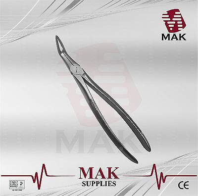 MAK Dental Extracting Forceps FIG.46 L For Lower Roots Serrated Dental Equipment