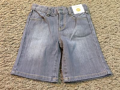 Boys Toddler Gymboree Gray Denim Jean Shorts Size 3T - NWT
