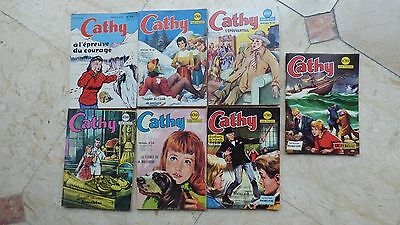 Lot 7 CATHY   EDITIONS ARTIMA 1963 AREDIT 1969  BD SOUPLE PETIT FORMAT