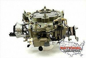 ROCHESTER QUADRAJET 4 BBL CARBURETOR FITS 305-350 engines 650 CFM Electric Choke