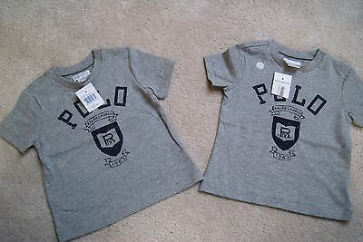 Ralph Lauren boys T-shirt - 12 months - BNWT - New with tags (Twins?)