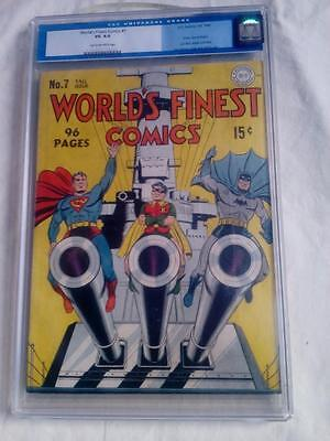 World's Finest Comics #7 Cgc 4.0