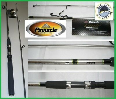 "PINNACLE LIMIT 6'6"" Medium Action Spinning Rod FREE USA SHIPPING! #LM662SP"