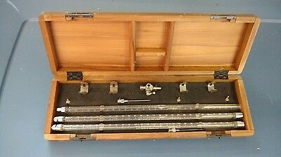 Antique Medical Device B-D Direct Venous Pressure Apparatus In Wooden Box