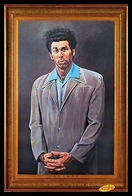 (LAMINATED) THE KRAMER SEINFELD POSTER (61x91cm) NO QUOTE PICTURE PRINT NEW ART