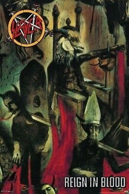 SLAYER REIGN IN BLOOD ALBUM POSTER (61x91cm)  PICTURE PRINT NEW ART