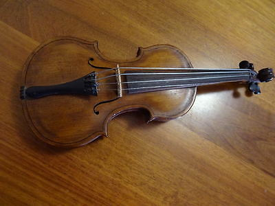 C1880 Antique Apprentice Made Violin