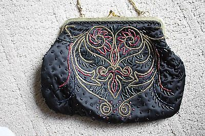 Vintage Beaded Evening HandBag or Purse