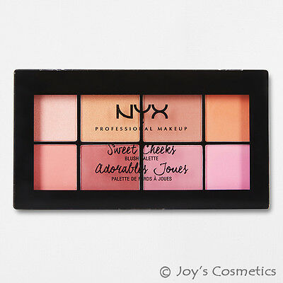 "1 NYX Sweet Cheeks Blush Palette - 8 Colors "" SCBP01 ""  *Joy's cosmetics*"