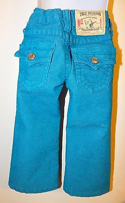 True Religion Brand Jeans Authentic Vintage Girls Billy Toddler Size 2