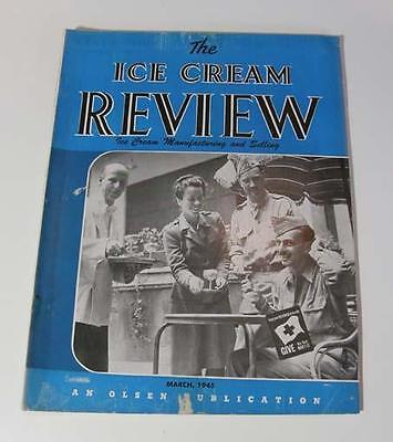 Ice Cream Review March 1945
