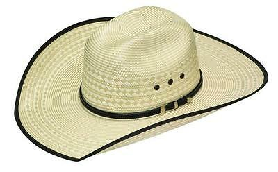 Twister Shantung Straw Hat With Bound Edge T73662-C