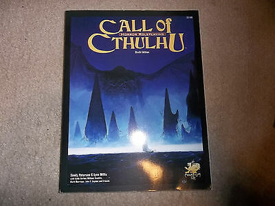 Call of Cthulhu Core Rulebook 6th Ed softcover