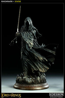 Sideshow Lord Of The Ring Ringwraith Nazgul Polystone Statue #102 - Rare!