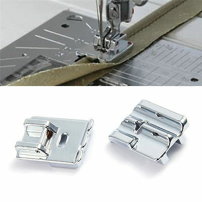 Double Rolled Hem Presser Foot Sewing Machine Accessories Household Supplies Hot