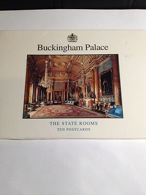 Buckingham Palace 10 Postcards-The State Rooms,Opening in August,1994.