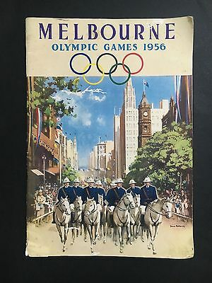 Olympic Game 1956 Rare Book About Melbourne