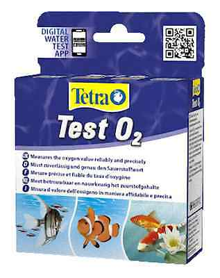 Tetra Oxygen Test Kit for Freshwater Marine Aquarium Pond Fish Tank