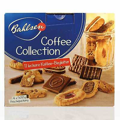 Bahlsen Gebäck, 2Kg Bahlsen Coffee Collection, 4x 500g Serviersets mit 11 Sorten