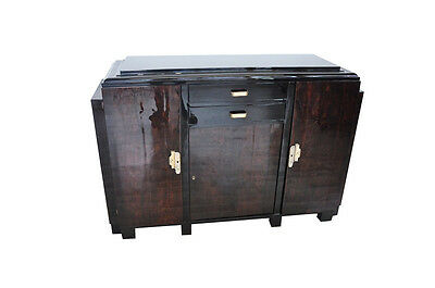 Small Art Deco Buffet with Mahogany Veneer