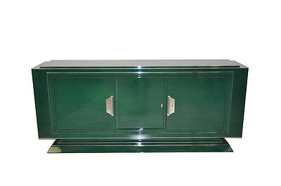 Unique Art Deco Sideboard in Jaguar Racing Green