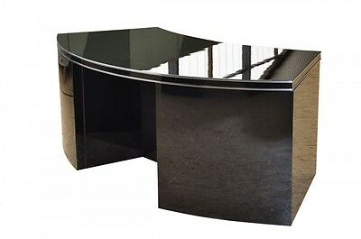 Curved Art Deco Desk with a Beautiful Shape